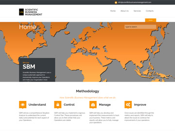 Scientific Business Management Website